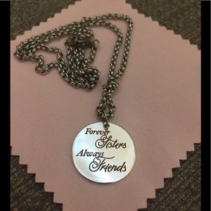 Jewelry - New Stainless Steel Engraved Pendant Necklace